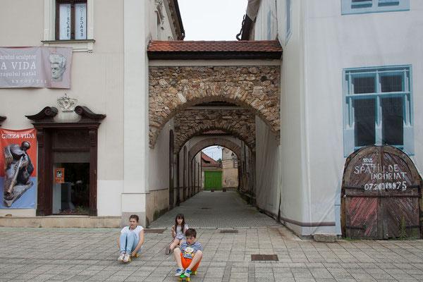 18.6.  Baia Mare - Zuerst besuchen wir die sehr schön restaurierte Piața Libertații.