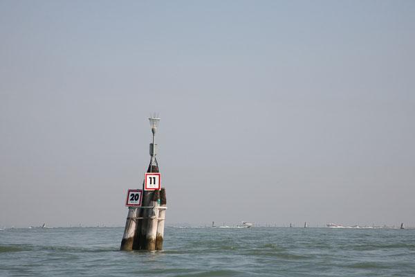 14.09. Weiter gehts mit dem Vaportetto rund um Venedig.