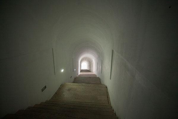 8.9. 461 Stufen führen vom Parkplatz zum Njegoš-Mausoleum