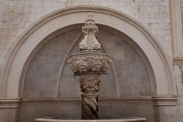 21.09. Dubrovnik - Kleiner Onofrio Brunnen