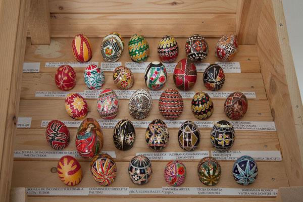 17.6. Circoaneşti - Wir besuchen das Eier-Museum.