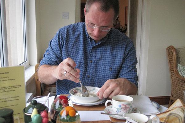 11.09. Frühstück auf der Bokiddick Farm