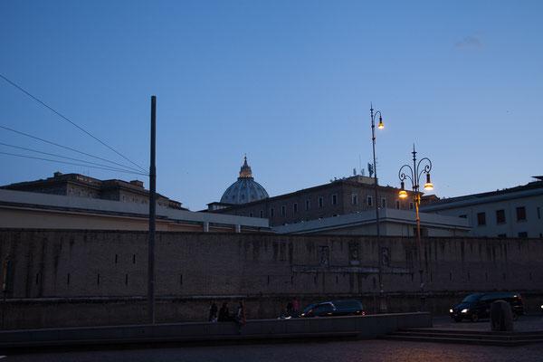 20.05. Vatikan am Abend