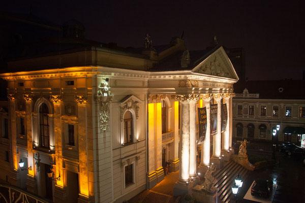 11.6. Oradea: Die Pläne für das Nationaltheater/Teatrul Naţional wurden von den Wiener Architekten Fellner und Helmer entworfen.