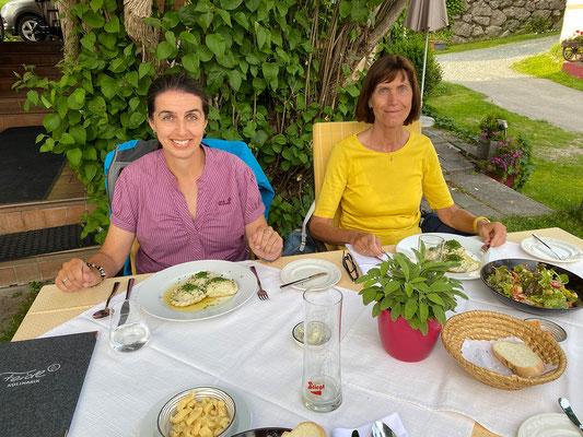 Ausgezeichnetes Abendessen im Gasthof Feidl