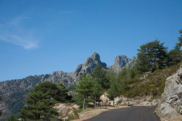 09.09. Von Zonza fahren wir zum Col de Bavella.