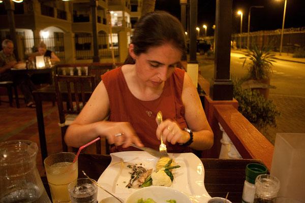 "Abendessen im ""Bamboo"""", Kralendijk"