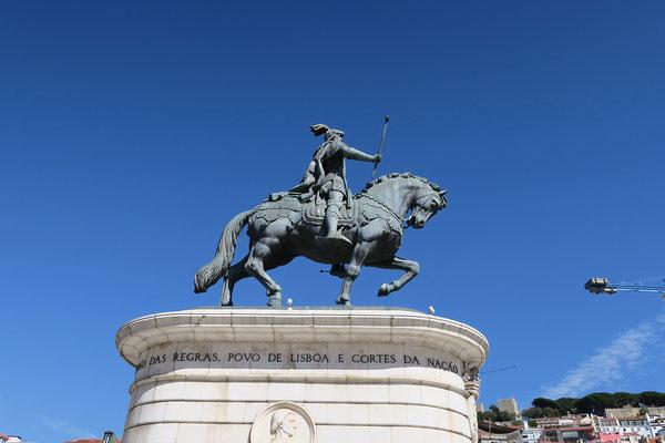 17.09. Zurück im Zentrum Lissabons: Praça da Figueira