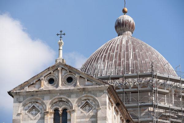 07.06. Pisa: Blick vom schiefen Turm