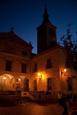 26.09. Wieder zurück in Madrid machen wir einen netten Spaziergang vor dem Abendessen: San Ginés