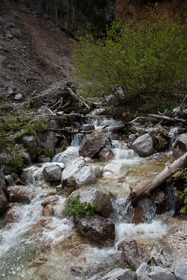 Auf dem Weg zum Rinka Wasserfall