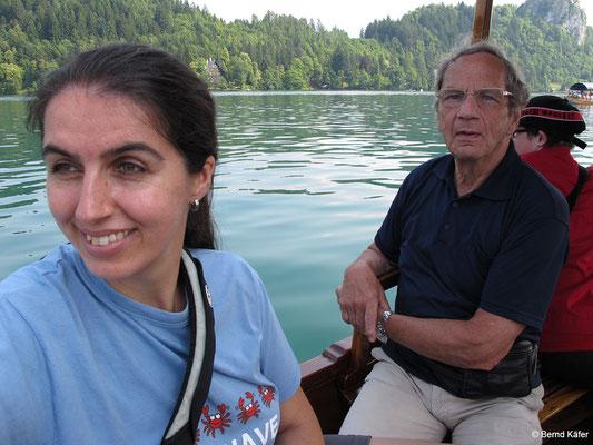 Bootsfahrt am Bleder See