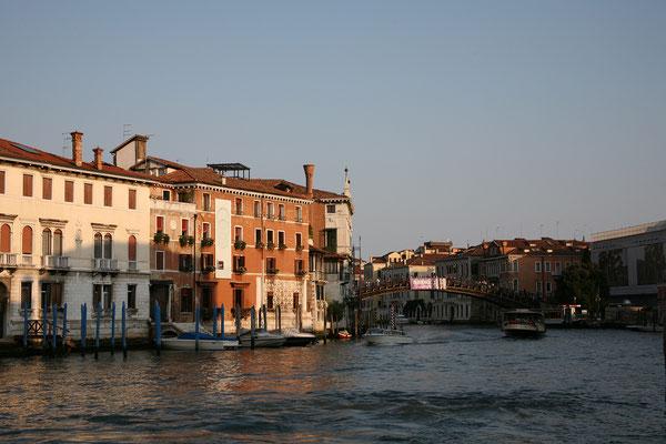 14.09. Canal Grande: Ponte dell' Accademia