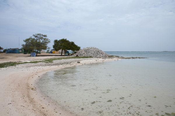 Strand von Cai, Lac Bay