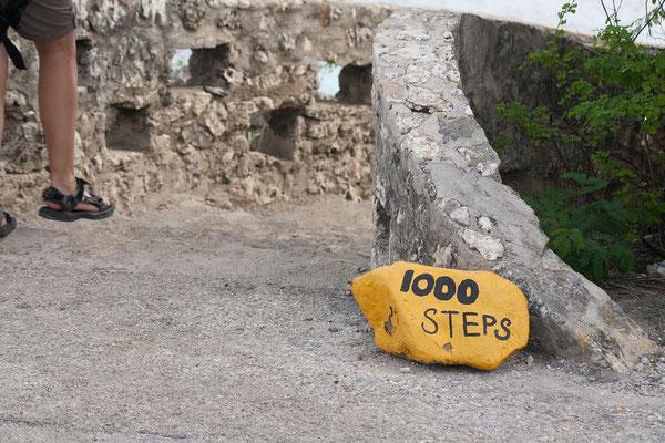 "Tauchspot ""1000 Steps"""