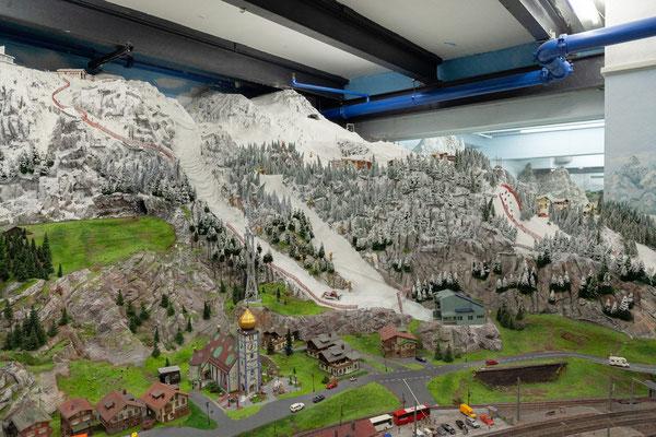 21.06. Miniaturwunderland: Österreich