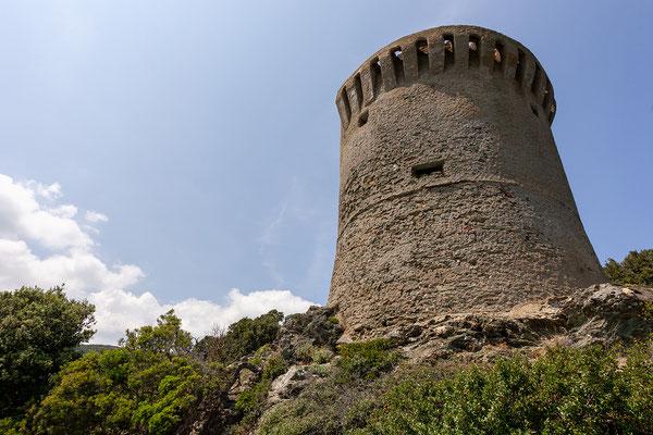 6.6. Entlang der Ostküste des Cap Corse: Tour de Losse