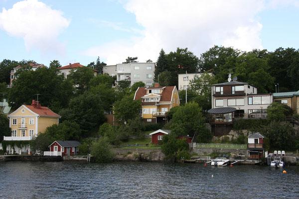 Unterwegs nach Drottnigholm