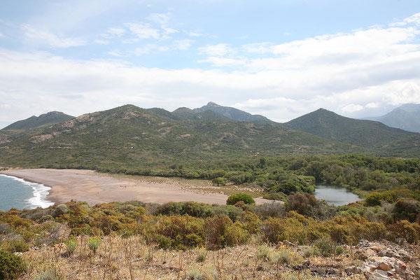 3.6. Wir sehen uns auch das hübsche Fango Delta am Ortsrand an.