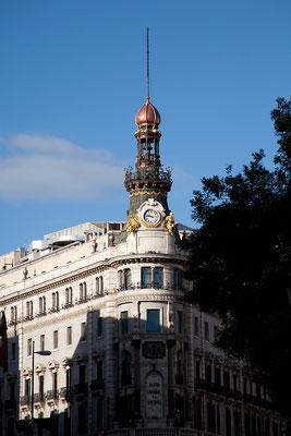 25.09. Weiter gehts über die Calle de Alcalá.