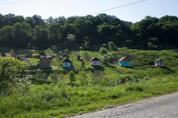 06.06. Von Criț führt eine sehr schöne Strecke nach Viscri