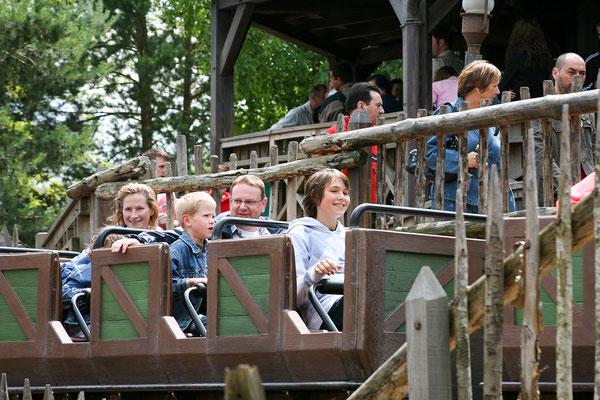 11.06. Disneyland Paris: Michael rast über den Big Thunder Mountain