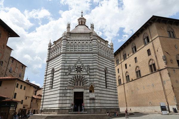 08.06. Pistoia: Battisterio di San Giovanni in Corte