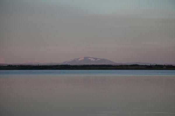 11.8. Laugarvatn - Blick auf die Hekla