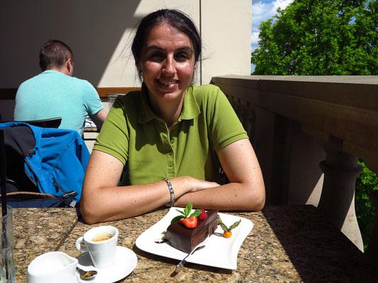 08.05. Prager Burg: Lobkowicz Palace Café