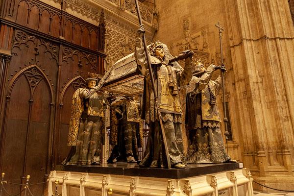 Kathedrale: Kolumbus Grabmal