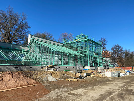 28.02. Botanischer Garten: Sanierung der historischen Gewächshäuser