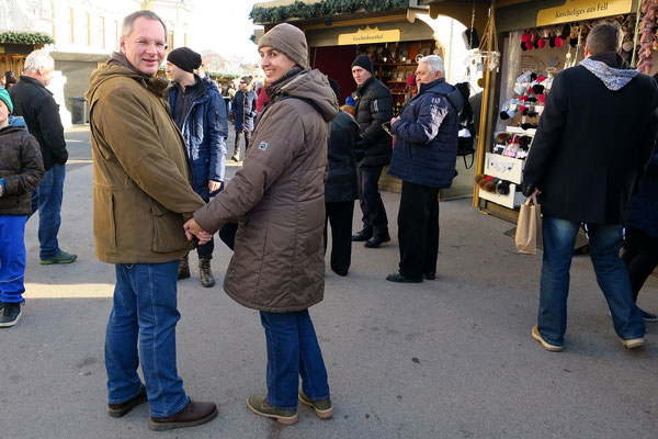 Weihnachtsmarkt beim Schloß Belvedere