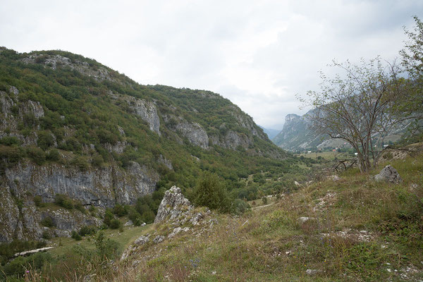 9.9. Unser nächstes Ziel ist der Komarnica Canyon.