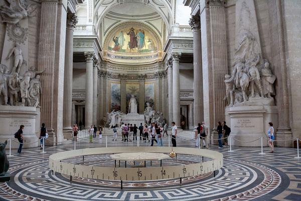 14.06. Panthéon: Foucaultsches Pendel