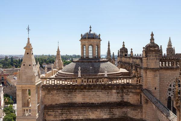 Kathedrale: Blick vom Giralda Turm