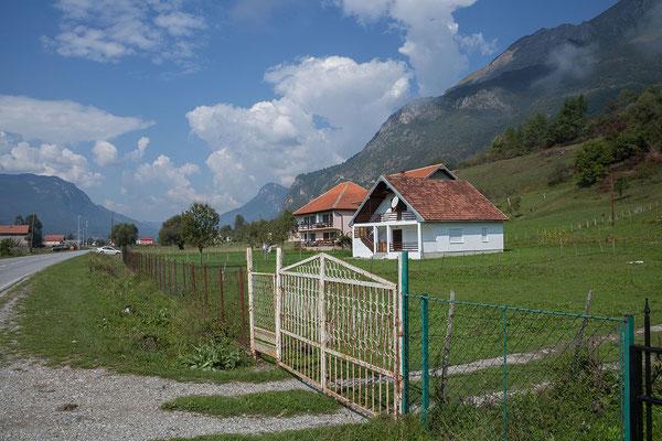 14.9. Unterwegs nach Gusinje