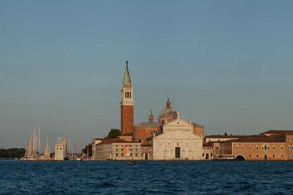 01.07. Vaporettofahrt: San Giorgio Maggiore