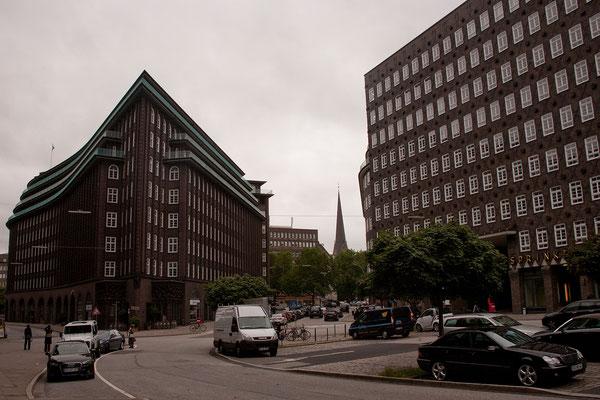 23.07. Das Chilehaus von 1922-24 ist eines der bekanntesten Kontorhäuser Hamburgs.