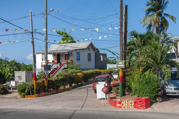 Weg zur Cabier Ocean Lodge