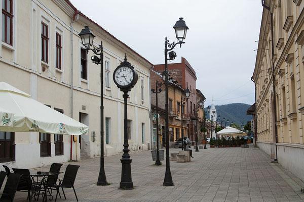 18.6. Unser nächstes Ziel ist die Kreishauptstadt Baia Mare.