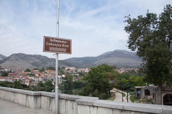 5.9. Wir durchqueren Trebinje, 2.größte Stadt der Rep. Srpska, eine der beiden B u H bildenden Entitäten.