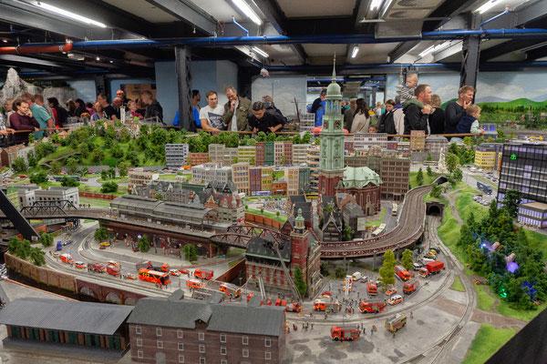 21.06. Miniaturwunderland: Hamburg
