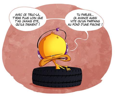 Le pneu -