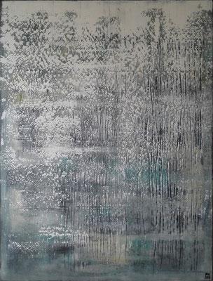No. 64 - Mischtechnik Acryl auf Leinwand 120x160 cm (2015) - verkauft -