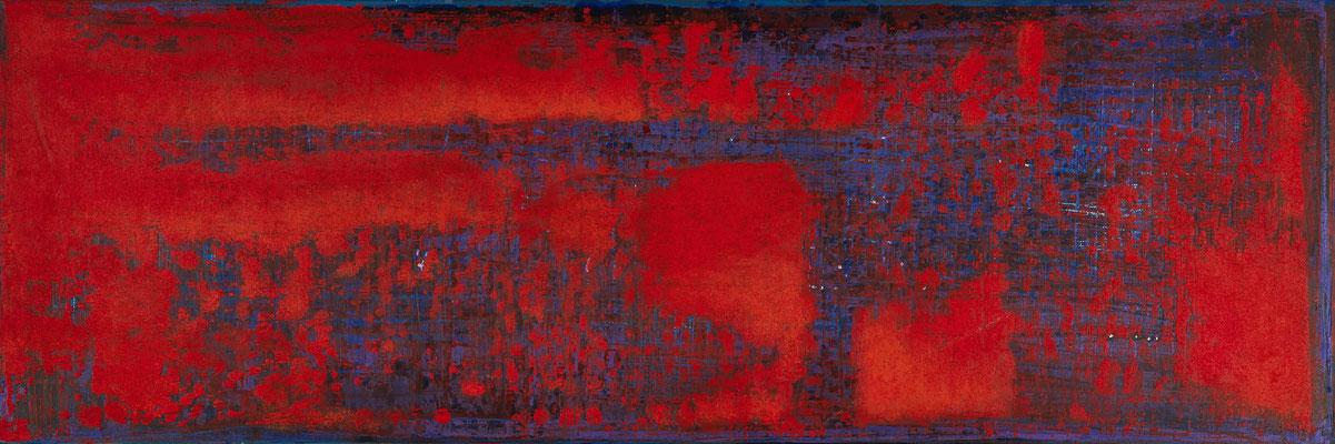 No. 36 - Mischtechnik Acryl auf Leinwand 120x40 cm (2012)