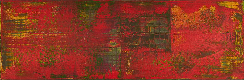 No. 12 - Mischtechnik Acryl auf Leinwand 120x40 cm (2010)