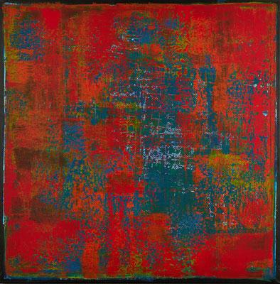 No. 19 - Mischtechnik Acryl auf Leinwand 120x120 cm (2012)