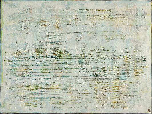 No. 14 - Mischtechnik Acryl auf Leinwand 160x120 cm (2010) - verkauft -
