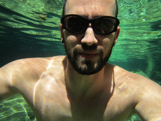 Unterwasserkamera funktioniert