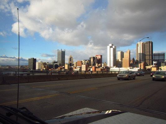 Zurück in Pittsburgh